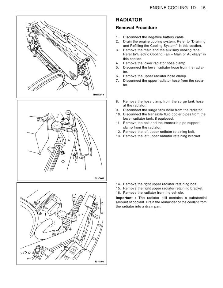 Daewoo Alternator Wiring Diagram : Daewoo leganza cooling system diagram wiring