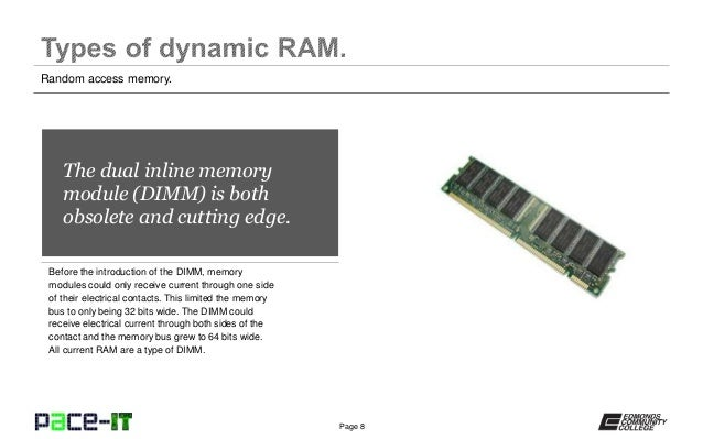introduction to ram Introduction to computers: chapter 4 first set of vocabulary words study play boot the start up of a computer browser  often called ram or random access memory.