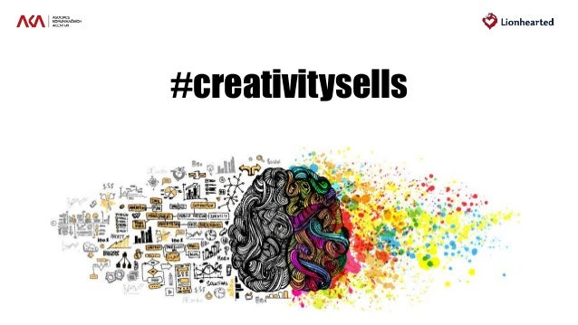 #creativitysells