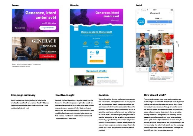 Banners Microsite Social Campaignsummary Creativeinsight Solution Howdoesitwork? Wewillcreateuniquepersonalisedstoriesbase...