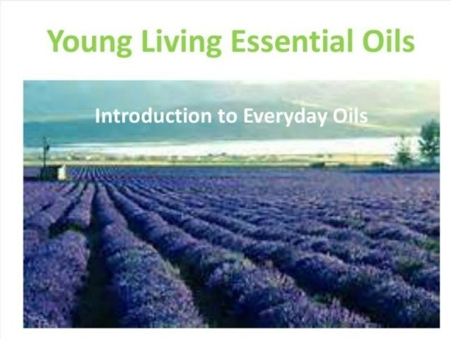 introduction to essential oils pdf