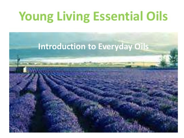 Young Living Essential Oils Introduction to Everyday Oils