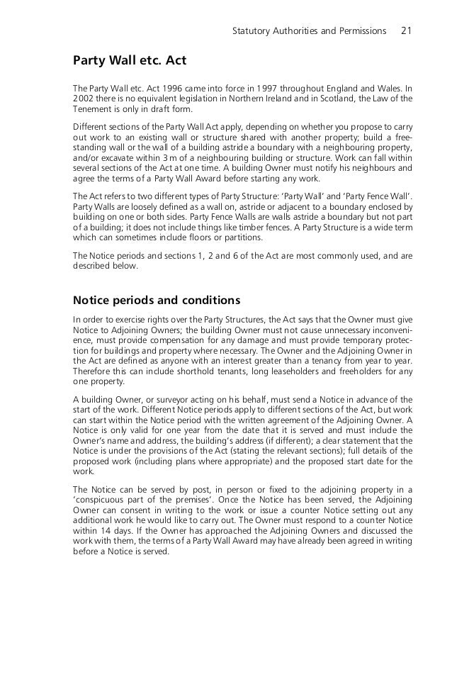 Sample Party Wall Agreement Why Sample Party Wall Agreement