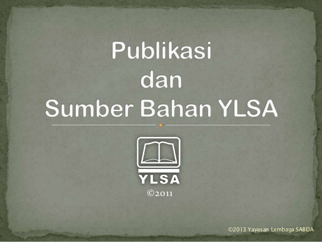 ©2011 ©2013 Yayasan Lembaga SABDA