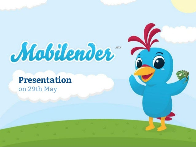 Presentation on 29th May