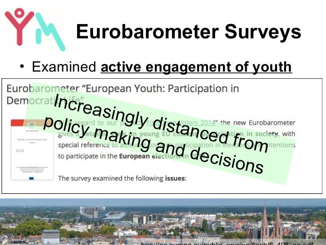 YouthMetre presented in the European Parliament Slide 2