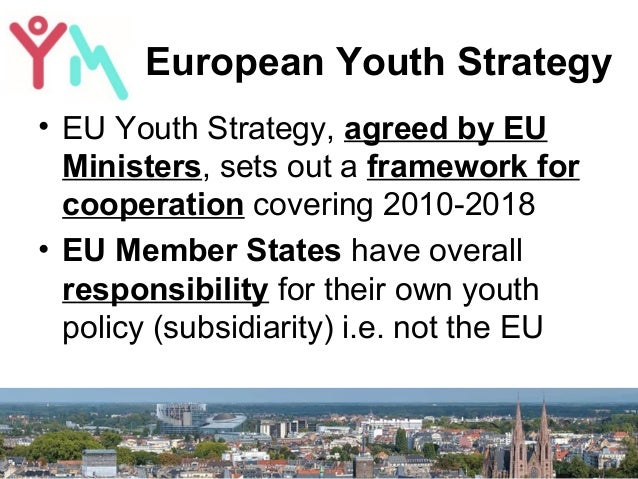 YouthMetre presented in the European Parliament Slide 3