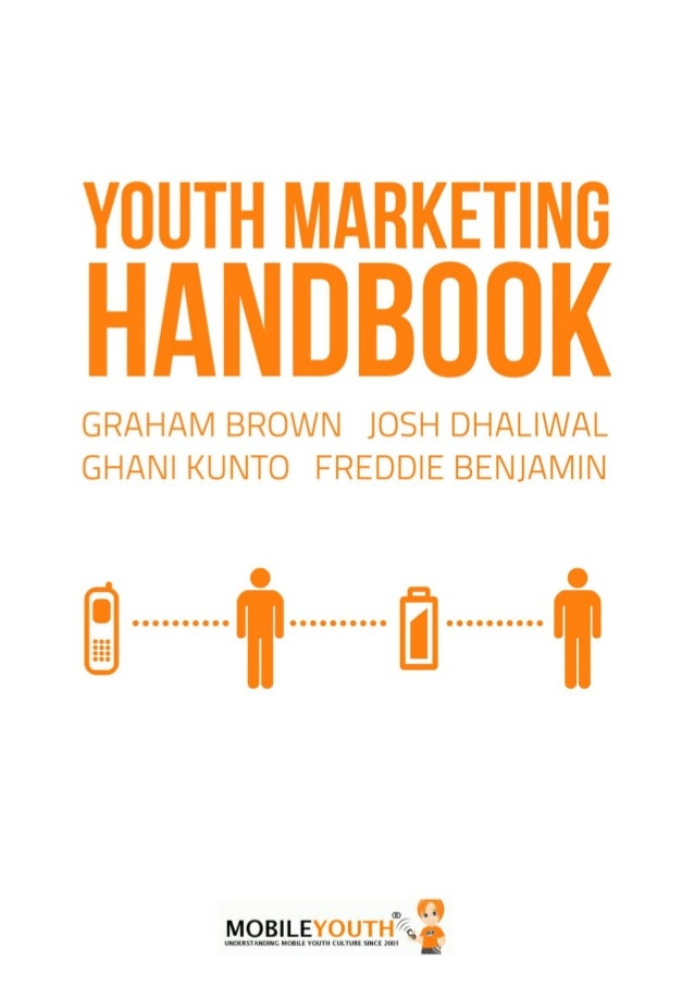 We need to move from viewing youth as       destinations for our marketing messages           to treating them ...