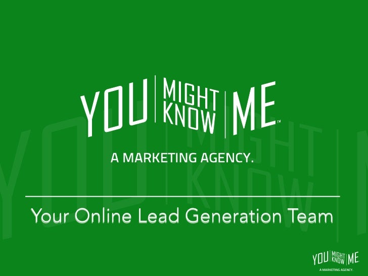 Your Online Lead Generation Team