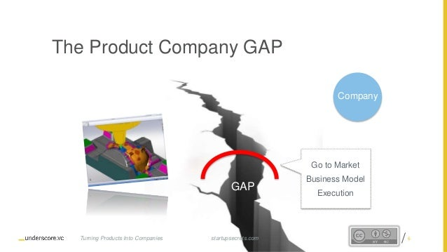 Proprietary and Confidential The Product Company GAP GAP Company startupsecrets.comTurning Products Into Companies Go to M...