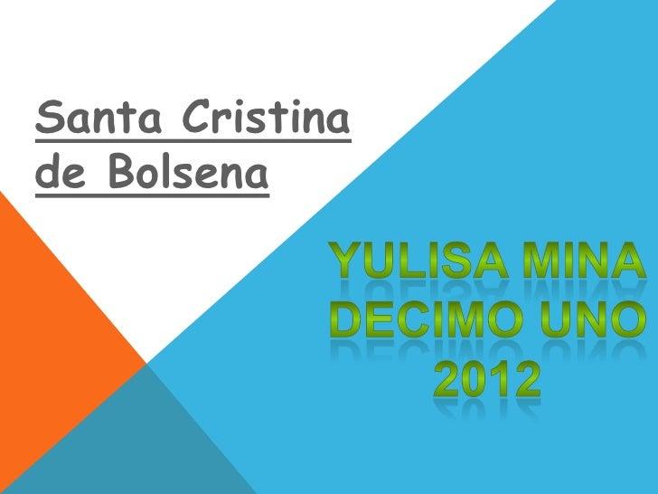 Santa Cristinade Bolsena