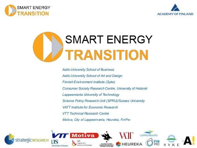 Esitys: Kuluttajat energiamarkkinoiden kehittämisessä keskiöön Slide 3