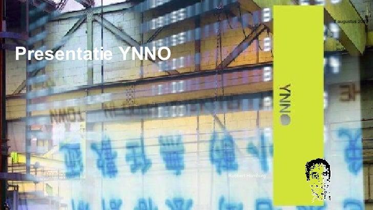 Presentatie YNNO