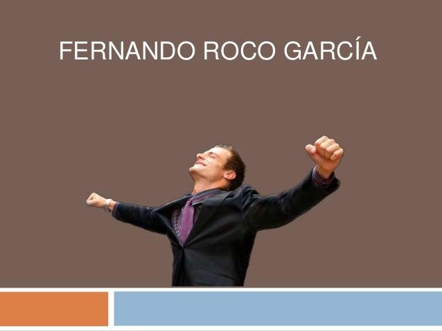 FERNANDO ROCO GARCÍA
