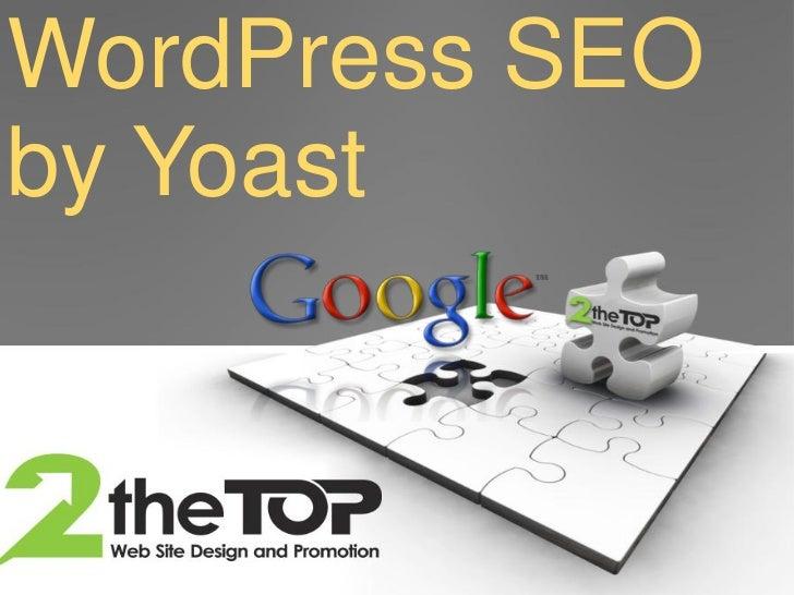 WordPress SEOby Yoast