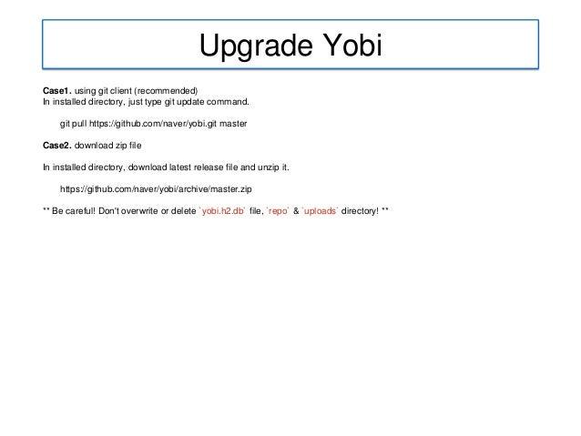 Yobi d2 naver(create)