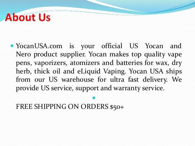 Yocan Vaporizer Online