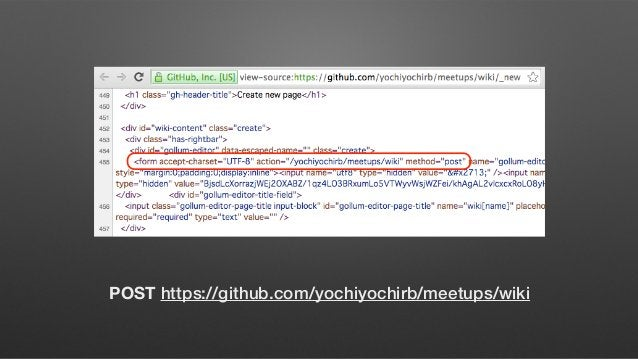 GET http://example.com/users/show/123 POST http://example.com/users/create