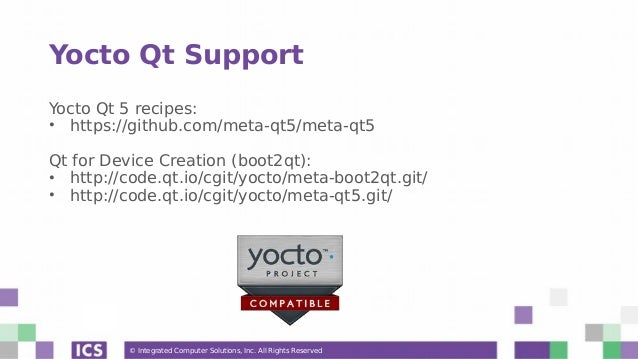 Webinar] An Introduction to the Yocto Embedded Framework