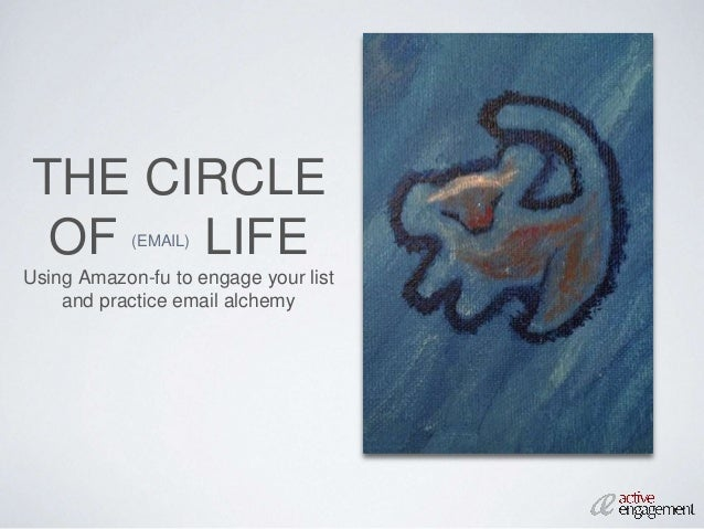THE CIRCLE OF (EMAIL) LIFE Using Amazon-fu to engage your list and practice email alchemy