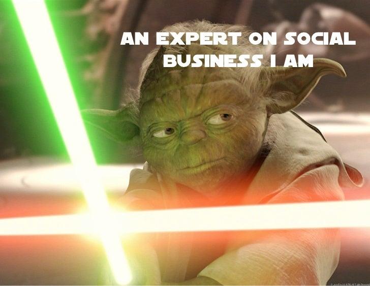 An Expert on Social    Business I Am