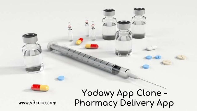 Yodawy App Clone - Pharmacy Delivery Appwww.v3cube.com