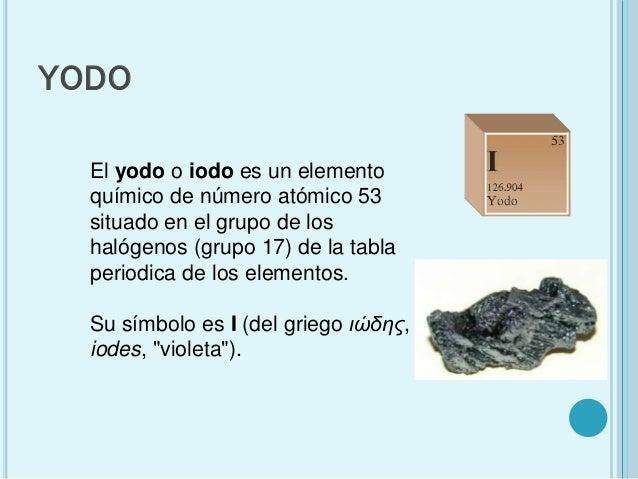 Elemento yodo urtaz Choice Image
