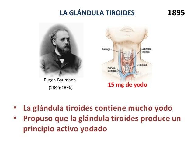 Conferencia: Importancia del yodo en la salud: aspectos históricos y …