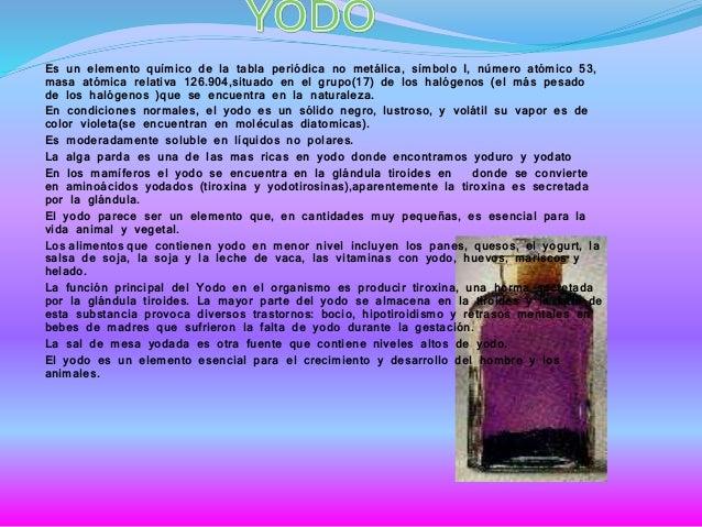 Fisicoquimico sergio villamil resultado de imagen para informacion sobre el yodo de la tabla periodica urtaz Image collections