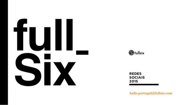 1  REDES  SOCIAIS  2015