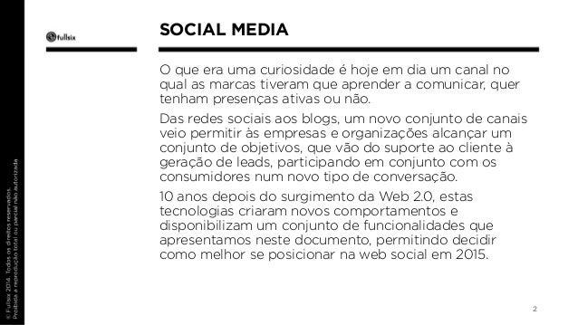 Redes Sociais para 2015 Slide 2