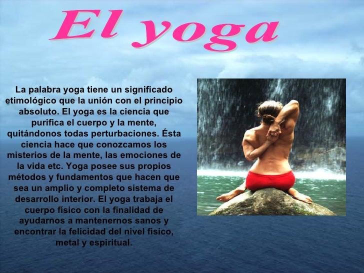 q significa do yoga