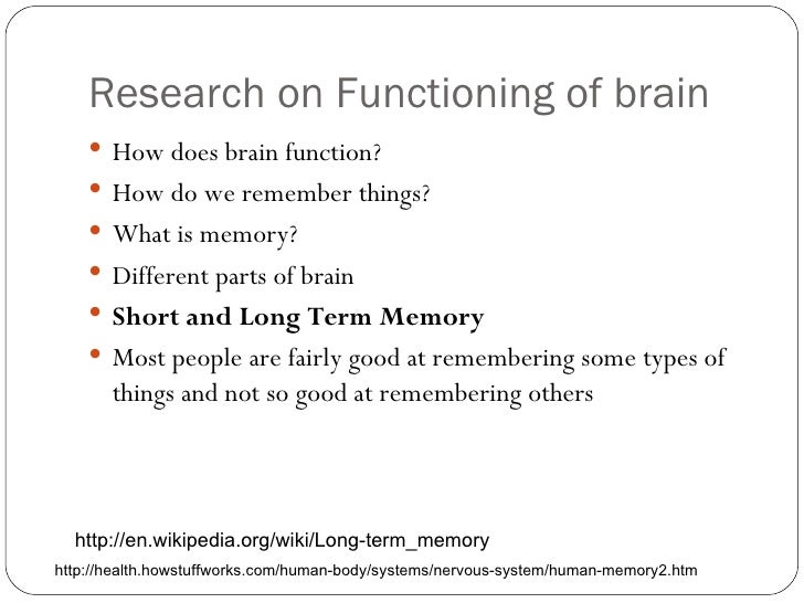 Tips for a Better Memory