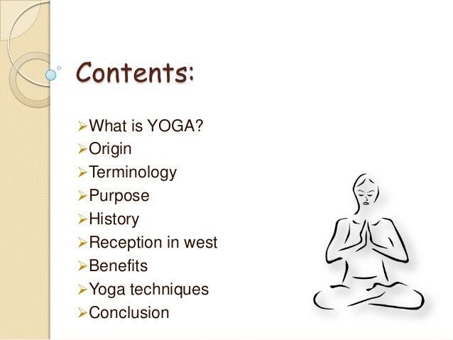Yoga  Slide 2