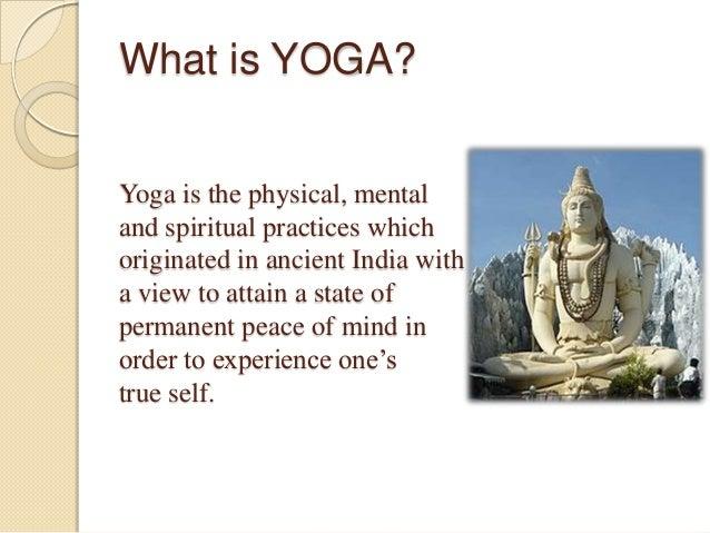 Yoga  Slide 3