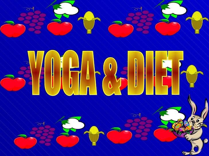 YOGA & DIET