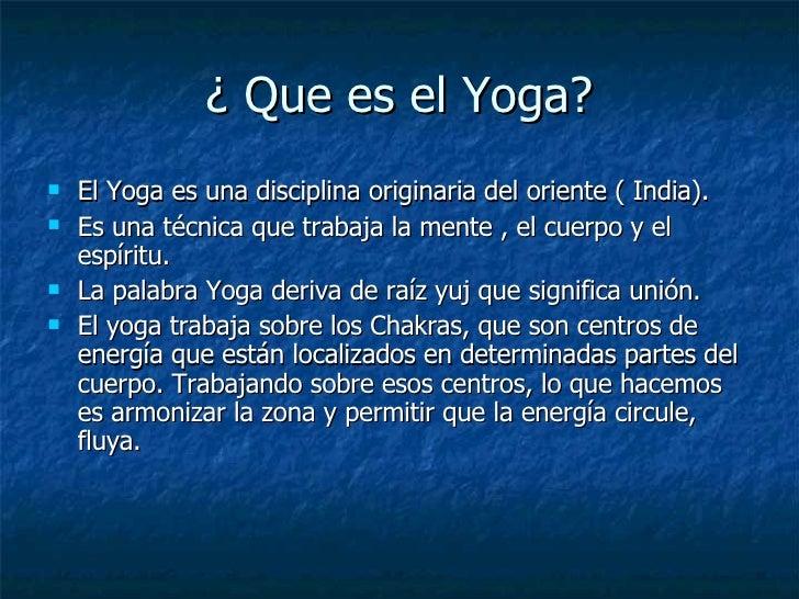 yoga que significa