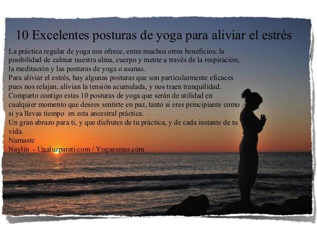 La práctica regular de yoga nos ofrece, entre muchos otros beneficios, la posibilidad de calmar nuestra alma, cuerpo y men...
