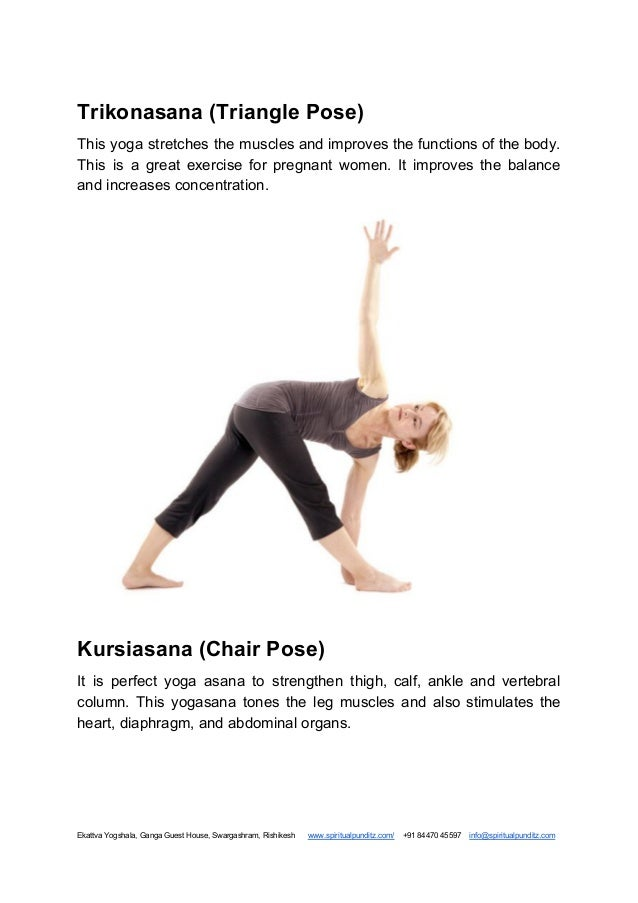 Yoga For Beginners With Pictures Poses Benefits Pdf