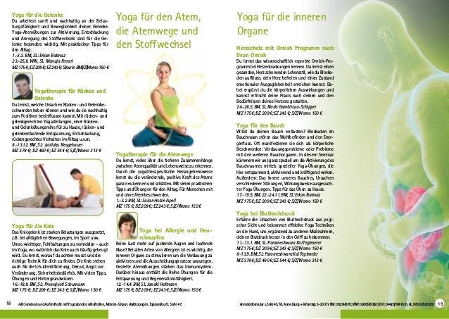 Yoga Vidya Therapie 2019