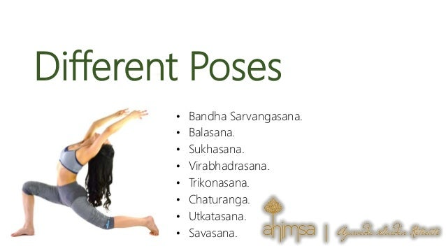 4. Different Poses ...