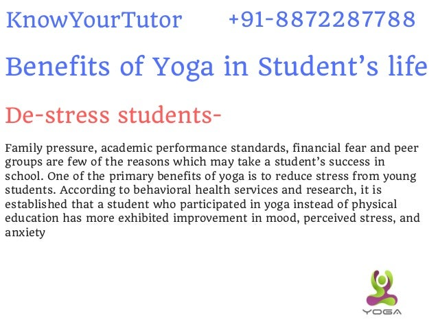 6 Benefits Of Yoga In Students