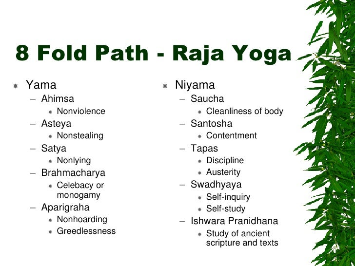 8 yoga paths