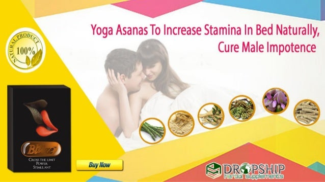 increase stamina in bed naturally