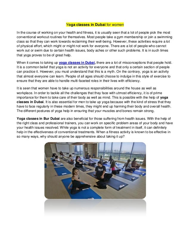 Miraculous Yoga Classes In Dubai For Women Beutiful Home Inspiration Truamahrainfo