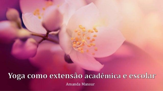 Amanda Mansur