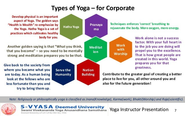 Yoga For Corporate And Professionals