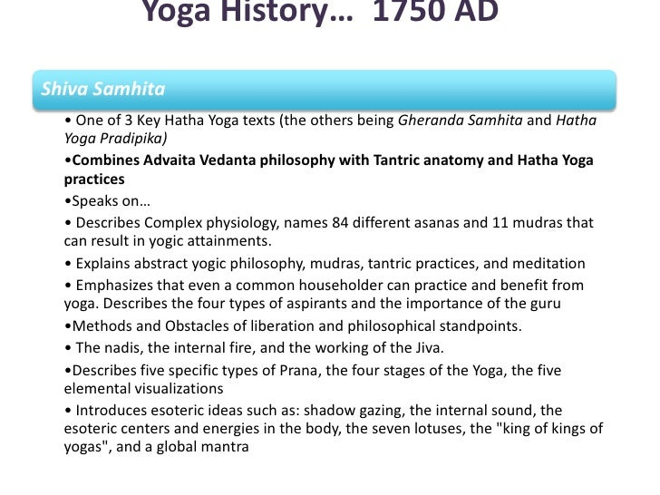an introduction to the history of yoga Love yoga want to learn everything you can about it in this accessible and  engaging book, amy vaughn applies her decades of education and research to.