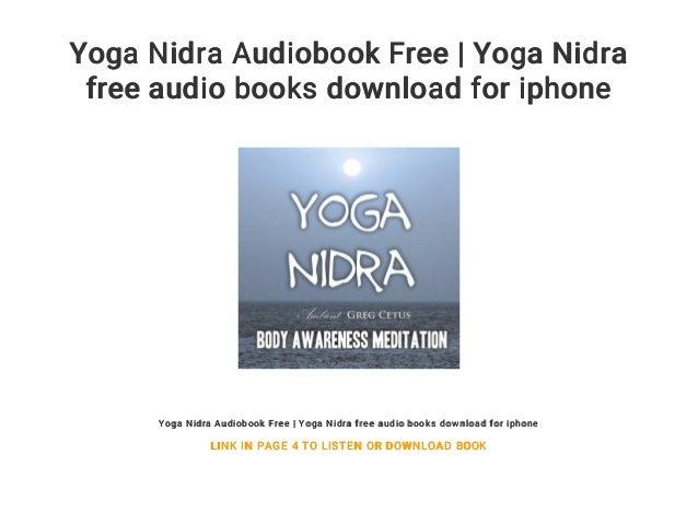 yoga nidra free