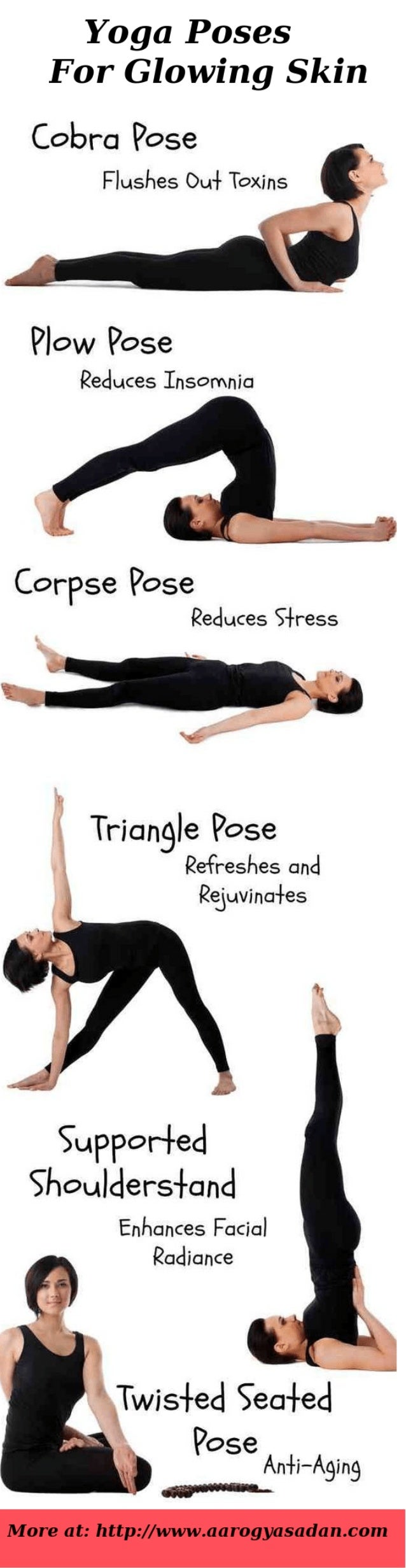 Yoga Poses For Clear Glowing Skin